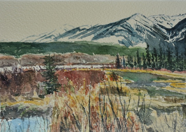 About Dorothy Knowles Watercolour