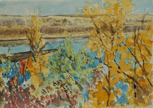 About Dorothy Knowles Fall Colours Watercolour